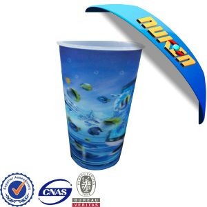High Quality Printed 3D Lenticular Cup pictures & photos