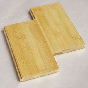 Natural Color Horizontal UV Coating Solid Bamboo Flooring pictures & photos