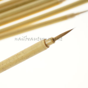 Kolinsky Bamboo Nails Art Brush Manicure Beauty Tools (B036) pictures & photos