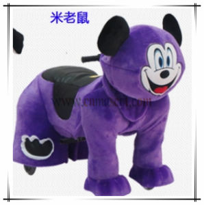 Popular Sale Mickey Mouse Animal Ride Toy Animal Plush Car pictures & photos