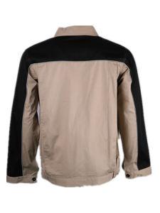 Wholesale Balck Khaki 100%Cotton Man Work Jacket pictures & photos
