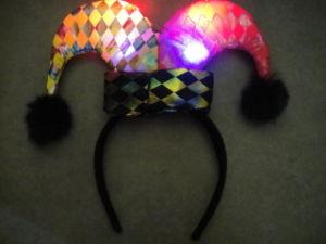 LED Headwear, Headwear, Flashing Hat, Buffoon Hat (919C)