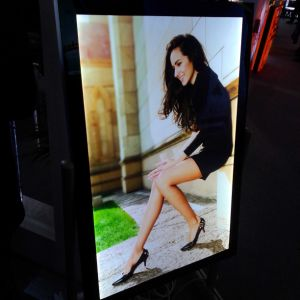 Outdoor Waterproof Ultra Thin LED Advertisinglight Box pictures & photos