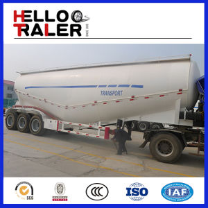 3 Axles 45cbm Cement Bulker Semi Trailer with Compressor pictures & photos