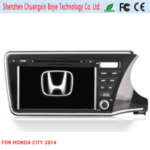 GPS Navigator GPS Tracking DVD Car MP3 Player for Honda City 2014 pictures & photos