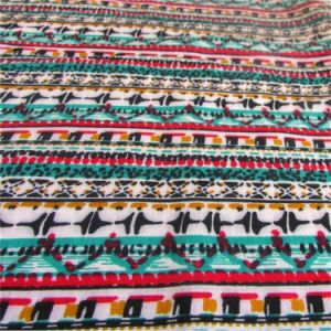100 Rayon Printed Fabric for Women Dress Clothing pictures & photos