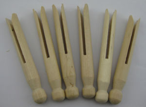 Craft Wood Pegs, Natural, 95mm, 25PCS pictures & photos