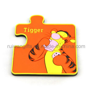 Animal 3D PVC Rubber Magnets Puzzle pictures & photos