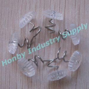 13mm Sofa Armrest Screws Clear Plastic Head Upholstery Twist Pins pictures & photos
