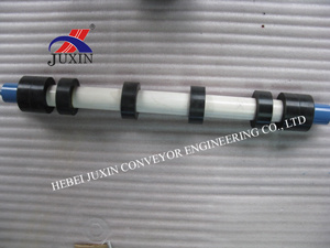 Rubber Conveyor Roller with Frame for Power Industry pictures & photos