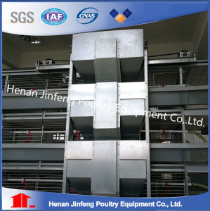 Henan Jinfeng Design Stainless H Type Chicken Egg Laying Cage pictures & photos