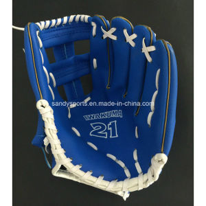 Manufacturer Good Quality PVC Leather Baseball Glove pictures & photos