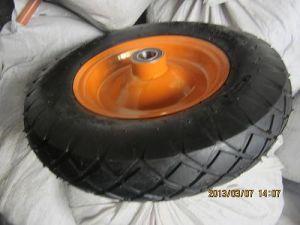 Qingdao Wheelbarrow Tire 400-8 Wheelbarrow Wheel pictures & photos