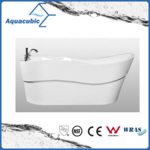 Luxury Pure Acrylic Seamless Free Standing Bathtub (AB6508) pictures & photos