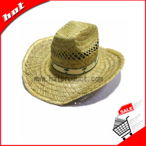 Hollow Straw Promotional Cowboy Hat pictures & photos