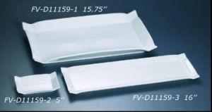 Strengthen Porcelain Retangular Plate (FV-D11159)