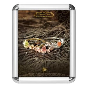 Different angle Snap open Poster frame-DY-05 pictures & photos