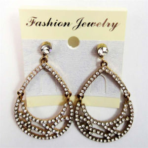 New Item Glass Stones Oval Shape Fashion Jewellery Earrings pictures & photos