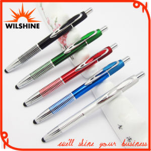 Promotional Aluminum Stylus Ball Pen for Logo Engraving (IP0195) pictures & photos