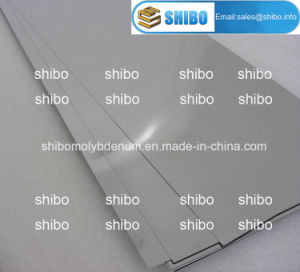 0.1mm Thickness Molybdenum Sheets pictures & photos