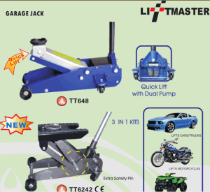 3 Ton 70mm Ultra Low Profile Floor Jack pictures & photos