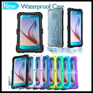 Top Grade Waterproof Protective Case Cover for Samsung Galaxy S6 and S6 Edge with Screw