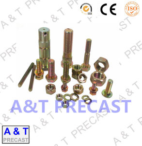 Hex Anti-Theft / Fastener / CNC Machining Stainless Steel Bolt Nut pictures & photos