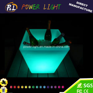 Party Bar Decorative Cube LED Ice Bucket pictures & photos