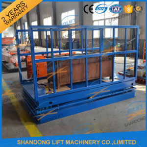 Hydraulic Scissor Stationary Cargo Warehouse Elevator Machine pictures & photos