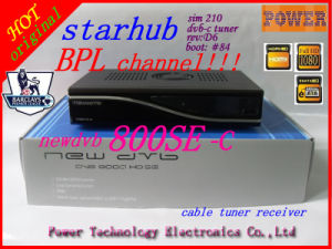 New DVB 800 HD Se Cable Starhub Set Top Box with Bpl Channel