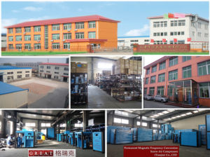 High Efficient Free Noise Frequency Conversion Air Compressor Parts pictures & photos