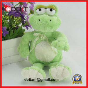 3 Size Green Frog Animal Toys Plush Frog pictures & photos