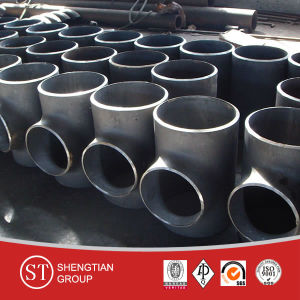 Forged Pipe Fittings ASTM Ss304 Equal Stainless Steel Tee pictures & photos