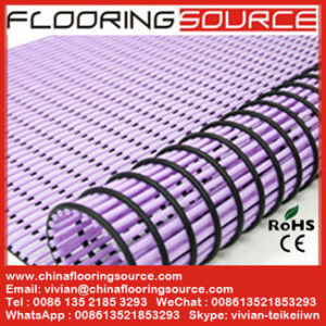 PVC Tubular Mat Wet Area Matting for Swimming Pool Non-Slip