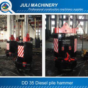 Dd 35 Diesel Hammer, Diesel Pile Hammer, Oil Piling Hammer