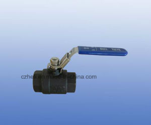 Carbon Steel 1 PC Ball Valve pictures & photos