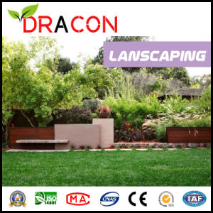 Fibrillated Yarn Artificial Grass for Landscape (L-1205) pictures & photos