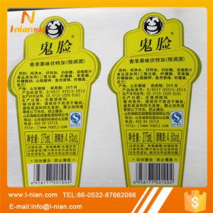 Custom Alcoholic Drink Bottle Sticker