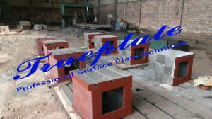 Grey Iron T-Slot Square Box