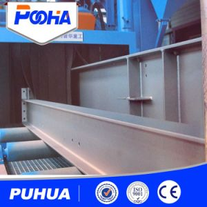 Steel Plate Shot Blasting Machine for Steel Structure pictures & photos