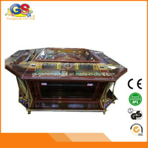 Jackpot Used Poker Table Gambling Cabinet Wooden Patin a Roulette Casino pictures & photos