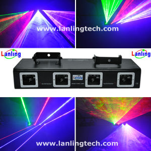 Laser Stage Lighting, Four Lens Laser Light Projector (L2707) pictures & photos