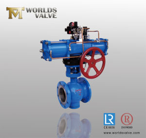 Ball Valve with Double Action Pneumatic Actuator pictures & photos