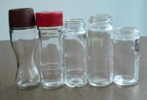 80ml/100ml Empty Spice Bottle with Plastic Cap pictures & photos