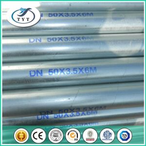 BS1387 Hot Dipped Galvanized Steel Pipes pictures & photos