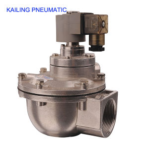 KLF series pneumatic pulse air valve/ diaphragm structure/AC110V,220V,DC24V pictures & photos