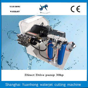 High Precision Water Jet Cutting Machine Part Direct Drive Pump pictures & photos