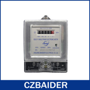 Single-Phase Electronic Watt-Hour Meter (DDS2111)