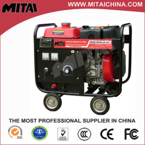 200A Diesel Portable Mini Welding Machine with DC 220V/3kw Auxiliary Power Output