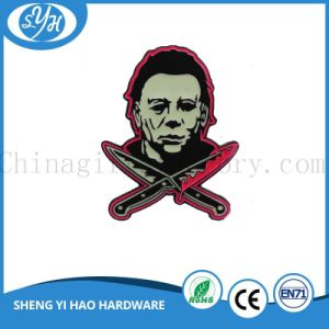 Customized New Logo Metal Badge Glowing in The Dark pictures & photos